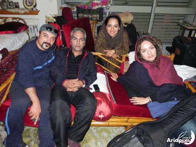 عکس جنجالی مهران مدیری به همراه مهناز افشار